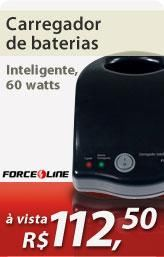 Carregador de baterias inteligente 60 watts - Force Line